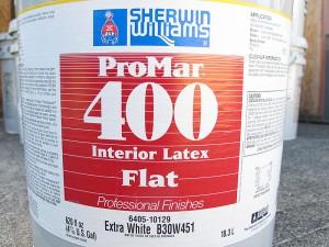 Sherwin Williams ProMar 400 Interior Latex