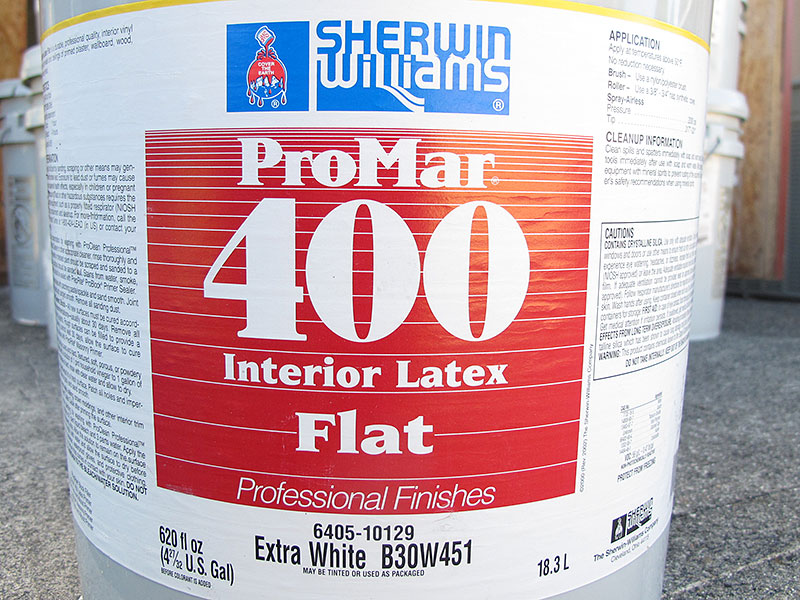 Sherwin Williams ProMar 400 Interior Latex